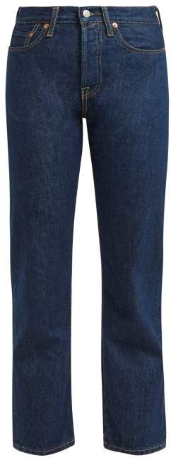 1997 Straight Leg Jeans - Womens - Indigo