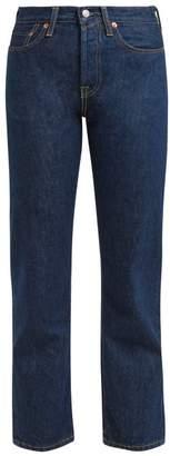 Acne Studios 1997 Straight Leg Jeans - Womens - Indigo