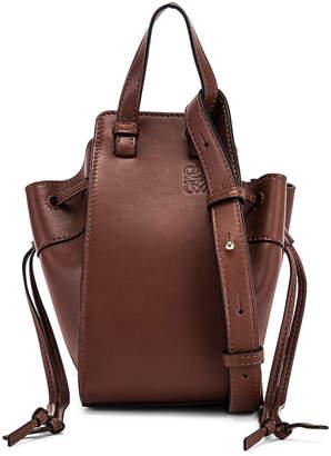 Loewe Hammock DW Mini Bag in Brunette   FWRD