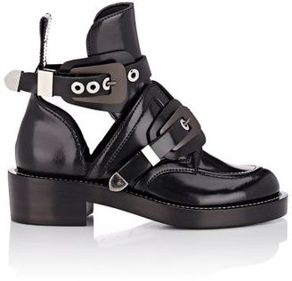 Balenciaga Women's Double-Buckle-Strap Boots-BLACK $1,275 thestylecure.com
