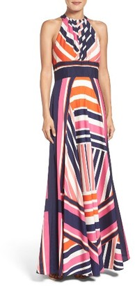 Women's Eliza J Print Maxi Dress $158 thestylecure.com
