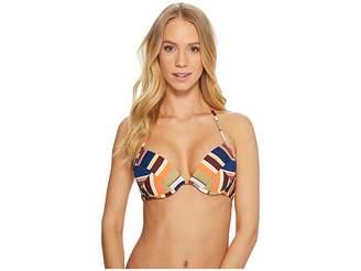 Bikini Lab THE Funkytown Push-Up Underwire Top Women's Swimwear