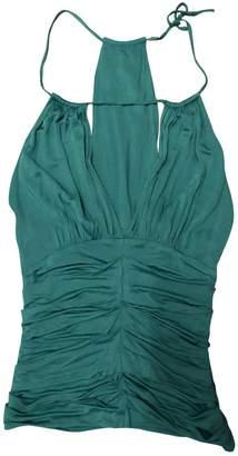 La Perla Green Silk Top for Women