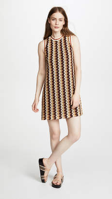 Anna Sui Zigzag Mini Dress