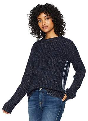Cable Stitch Women's Chunky Ribbed Sweater