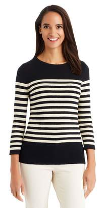 J.Mclaughlin Marina Sweater in Stripe
