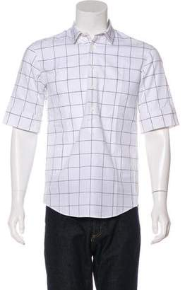 Public School Woven Button-Up Shirt