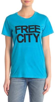 Freecity Free City Logo Graphic Short Sleeve Tee
