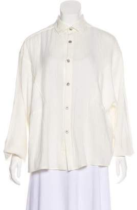 Palmer Harding palmer//harding Long Sleeve Button-Up Top