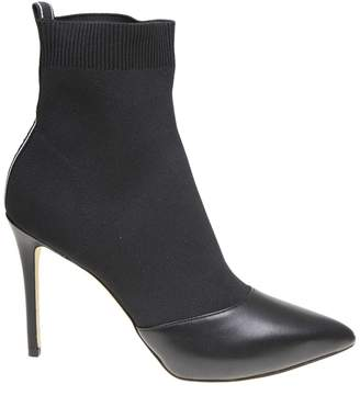 Michael Kors Vicky Knitted Boots Color Black