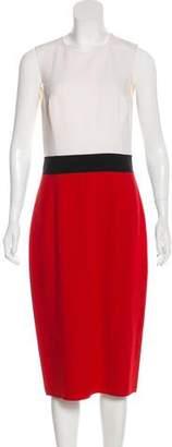 Michael Kors Wool Colorblock Dress w/ Tags