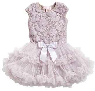 Infant Girl's Popatu Lace Pettidress $40 thestylecure.com