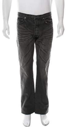 Christian Dior 21 CM Clawmark Straight-Leg Jeans grey 21 CM Clawmark Straight-Leg Jeans