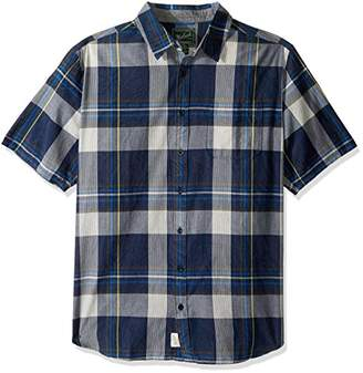 Woolrich Men's Tall Size Pepper Creek Shirt Long