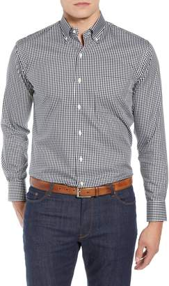 Peter Millar Crown Soft Gingham Regular Fit Sport Shirt