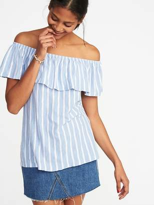 Old Navy Ruffled Off-the-Shoulder Swing Top for Women