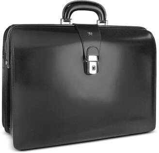 Pratesi Men's Leather Doctor Bag Briefcase