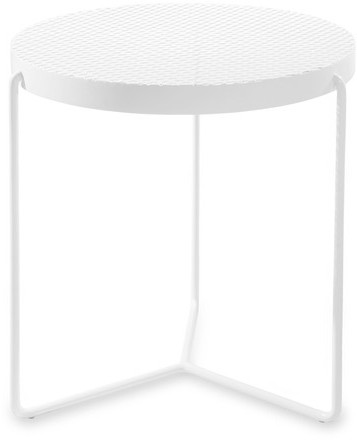 The Carrot Concept Circa Table White Perforated