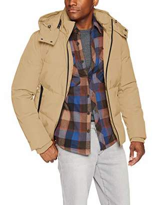 Cole Haan Men's Short Down Jacket with Hood