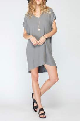 Gentle Fawn V Neck Jersey Dress