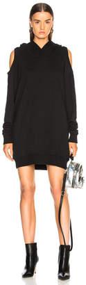 Faith Connexion Hooded Sweat Shirt Dress