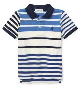 Ralph Lauren Childrenswear Baby Boy's Featherweight Cotton Mesh Polo