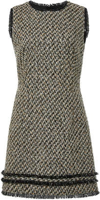 Paule Ka Tweed Sleeveless Dress