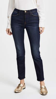 Frame Le High Straight Jeans