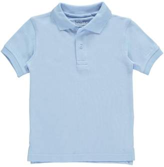 Nautica Little Boys' School Uniform Pique Polo