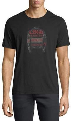 John Varvatos CBGB Jacket Graphic T-Shirt