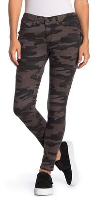 Democracy Ab Technology Zipper Detail Camo Jeggings (Petite)