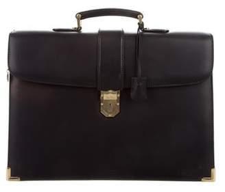 Mark Cross Leather Briefcase
