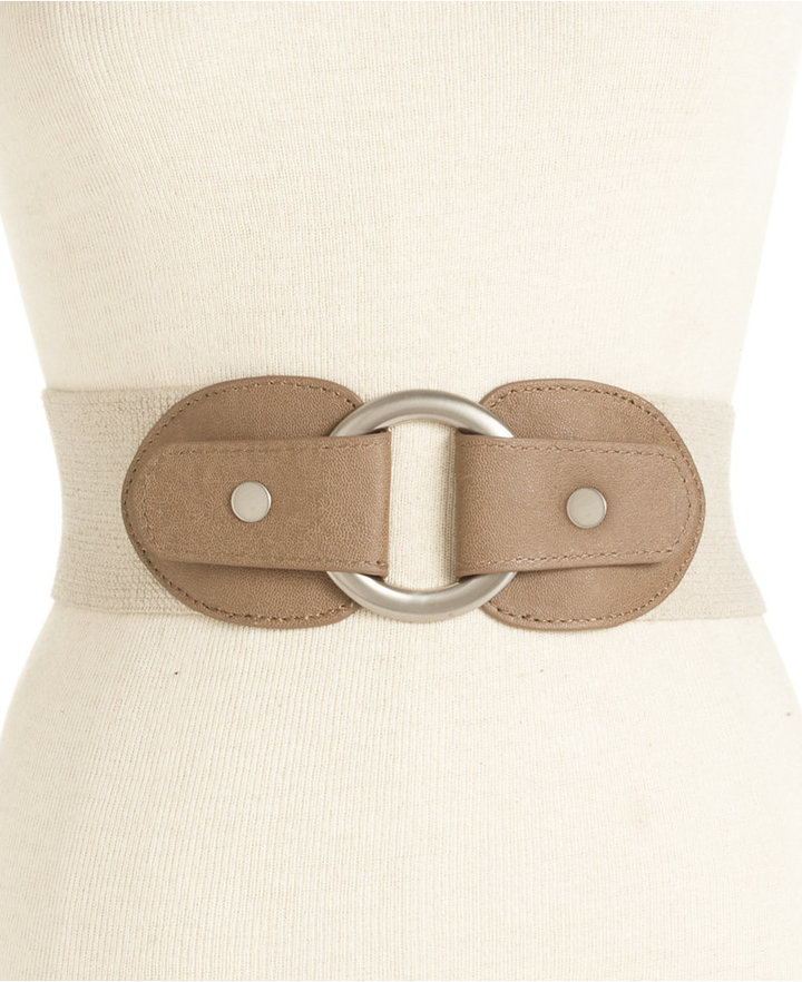 Style&Co. Pull Back Stretch Belt