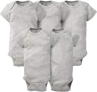 Gerber Baby 5 Pack Solid Onesies