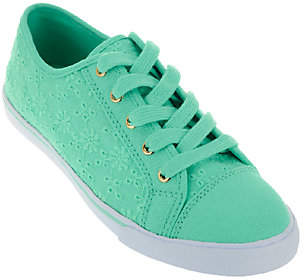 Liz Claiborne New York Lace-up Eyelet Sneakers