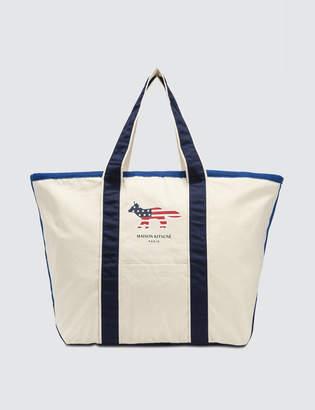 MAISON KITSUNÉ XL Richelieu Tote Bag