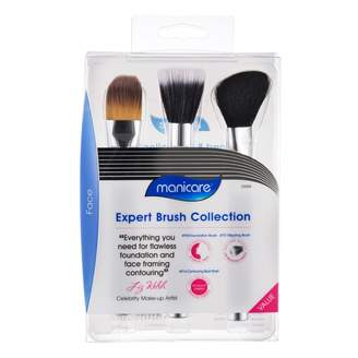 Manicare Face Expert Make-Up Brush Collection 3 pack