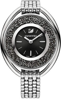 Swarovski Women's Swiss Crystalline Crystal Accent Stainless Steel Mesh Bracelet Watch 43mm $399 thestylecure.com