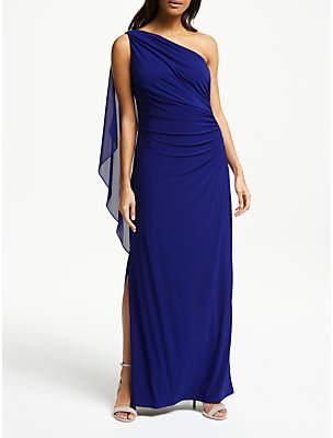 Lauren Ralph Lauren Lisella One Shoulder Dress