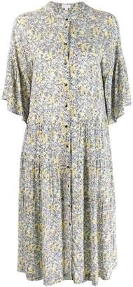 Lala Berlin Kufiya Sunrise print dress