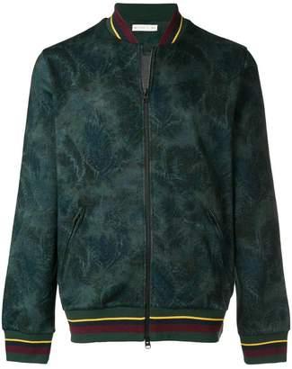 Etro contrast-trim bomber jacket