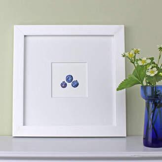 The Botanical Concept Blueberries Framed Botanical Art Print