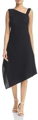 Nic+Zoe Asymmetric Crepe Dress