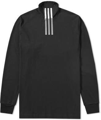 Y-3 Y 3 Long Sleeve Three Stripe High Neck Tee