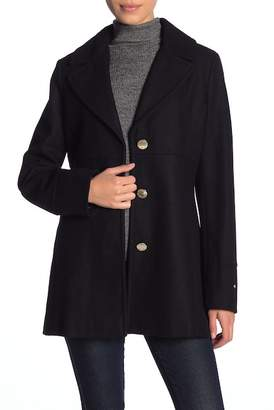 Tommy Hilfiger Wool Blend Coat