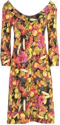 Ultrachic Fruit Print Dress