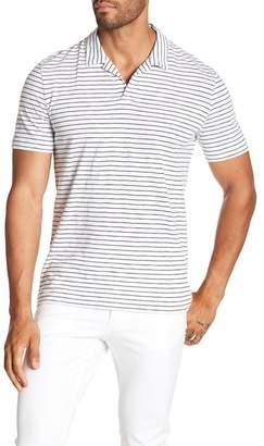 Theory Willem Stripe Polo Shirt