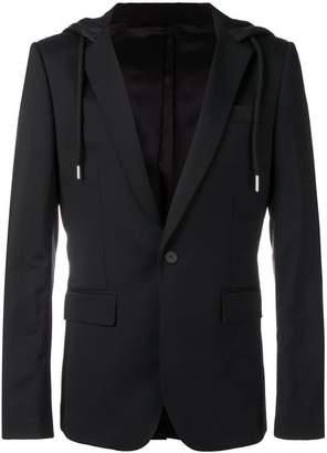 Les Hommes hooded blazer