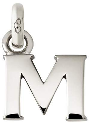 Links of London Sterling Silver Letter M Charm