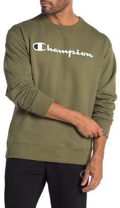 Champion Powerblend Graphic Crew Neck Sweatshirt